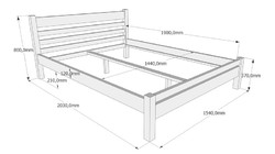 Легло с права табла