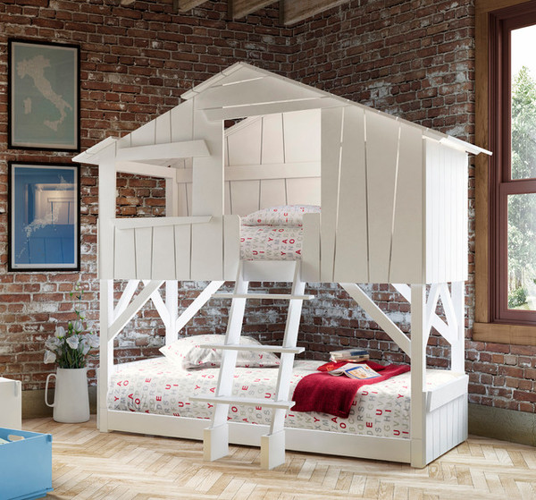Легло къща на два етажа